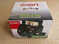 ION Pics 2 PC USB Photo Scanner 35mm Slide and Film Scanner for Computer or Laptop