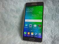 Samsung Galaxy Alpha - Black - Vodafone