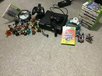 XBOX 360 250gb and accessories