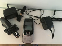Nokia 2230 mobile phone with chargers - £20 ONO
