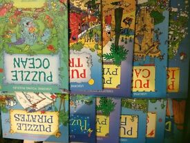 11 young puzzler's books