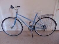 """Classic/Vintage/Retro Raleigh (20"""" frame) Hybrid/Commuter Bike (New Armadillo tyres)"""