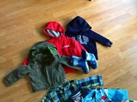 Boundle of boys clothes size 12-24 months