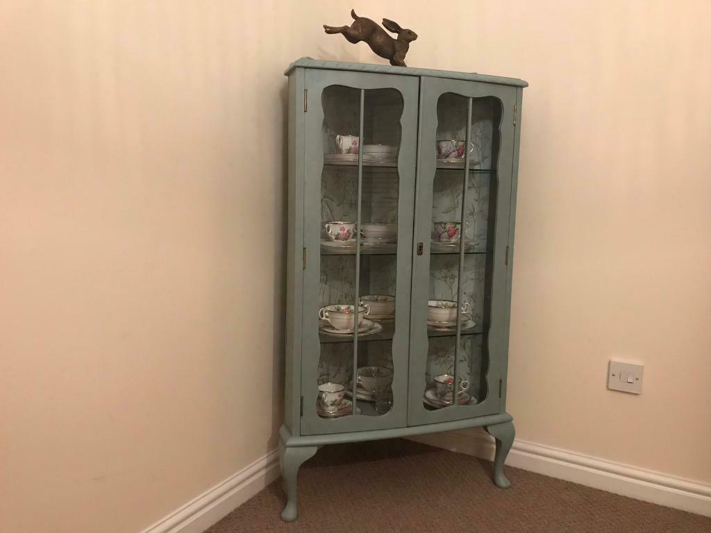 Beautiful Upcycled Retro Display Cabinet