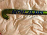 Unused Gryphon Chrome Atomic Pro hockey stick