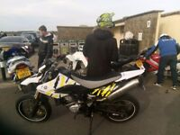 Yamaha WR125 X & Aprilia RS 125