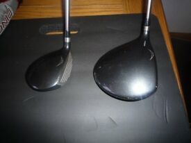 Ping G20 Driver and 3 wood no scuff marks, all good condition. Stiff shafts £60 each or £140 for 2