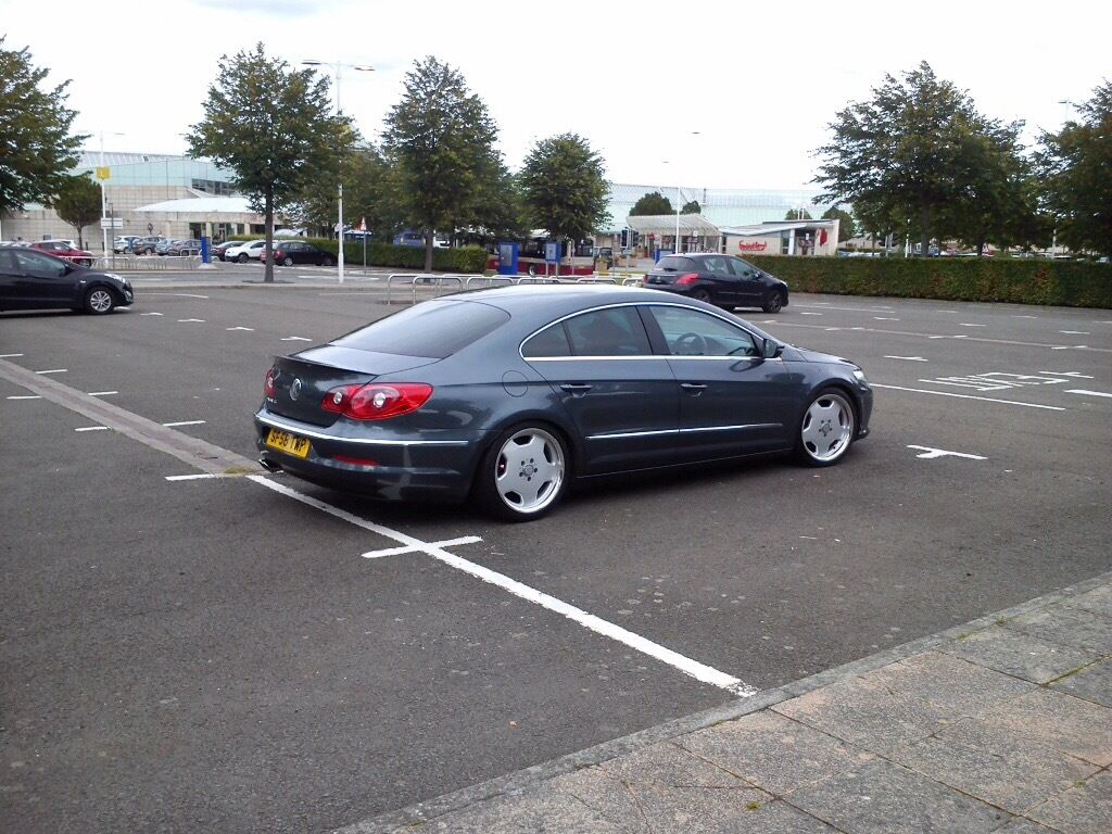 Vw passat cc mot lowered suspension mercedes wheels for Mercedes benz b5 service