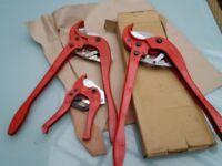 Heavy Duty Plastic pipe cutters