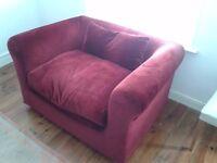 Habitat Extra Wide Luxury Armchair For Sale