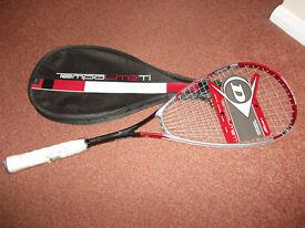 Dunlop Tempo lite Ti Squash Racket (NEW)