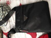 Gucci pouch and prada pouch