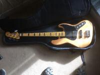 Fender Squier Vintage 70s Modified bass guitar