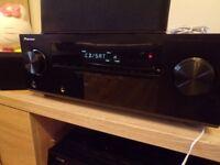 PIONEER VSX-321 HDMI 5.1 receiver Home Cinema Surround Sound Speaker System Remote control