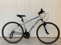 "Carrera Crossfire Tourney Aluminium Hybrid Bike (20""/52cm/M/L)"