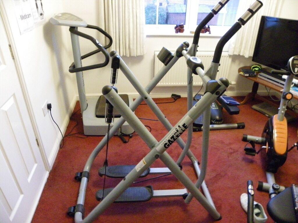 gazelle plus exercise machine