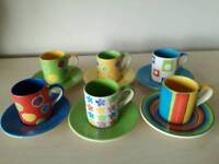Whittard small coffee cup set