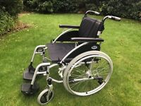 Virtually new Days wheelchair