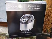 Cookworks Bread Maker Used Once!!