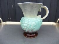 VINTAGE JUG MADE IN WEST GERMANY WITH A VINE & GRAPE DESIGN IN GOOD CONDITION ONLY £5