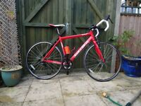 Ladies Road Bike. 51cm Aluminium Frame Carrera Zelos