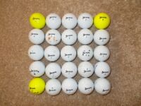 25 x SRIXON AD333 GOLF BALLS - Good, clean condition!
