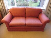 Two Laura Ashley Two Seater Winchester Sofas