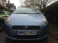 Fiat Grande Punto for sale in excellent condition with new front discs, front tyres and battery
