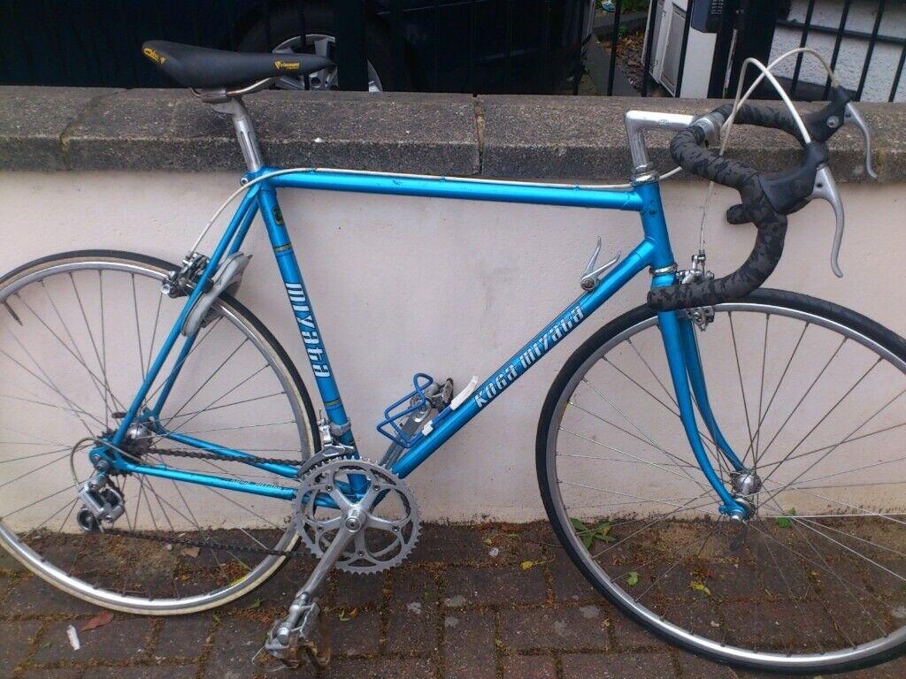 7c22ef08d1c Koga Miyata road bike size 56cm/Medium manganse lightweight frame recently  serviced