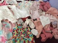 Baby girl clothes for early/small baby