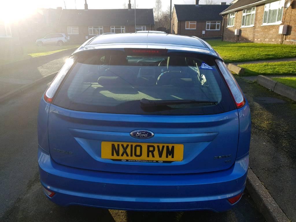 Ford focus 1.6 petrol semi automatic