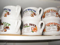 Set of Soup Mugs