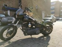 Harley Davidson FXDB Street Bob - low milage - excellent condition