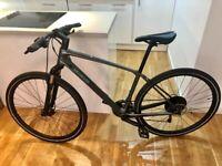 2019 Specialized Ariel Elite Carbon Fibre Hybrid Bike (Medium)