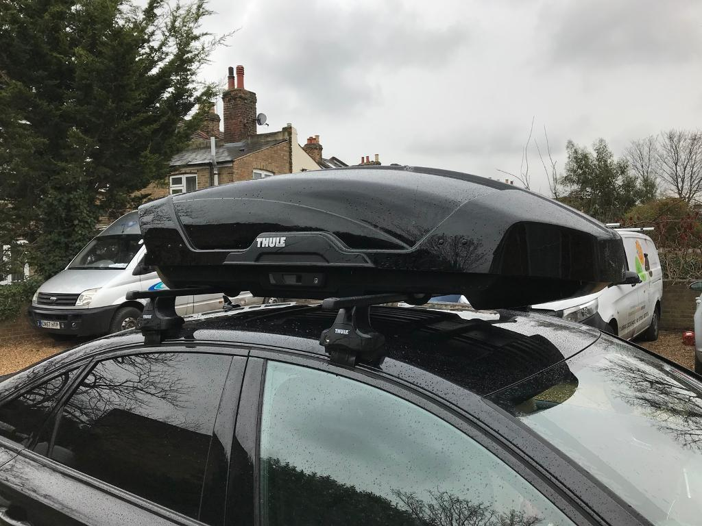thule motion xt m roof box open to offers in poole. Black Bedroom Furniture Sets. Home Design Ideas