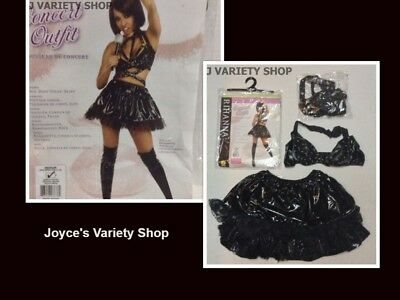 RIHANNA CONCERT OUTFIT ADULT SZ M COSTUME HALLOWEEN - Rihanna Halloween Costumes