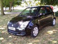 (58) 2008 Suzuki Swift 1.3 petrol 5 door hatchback