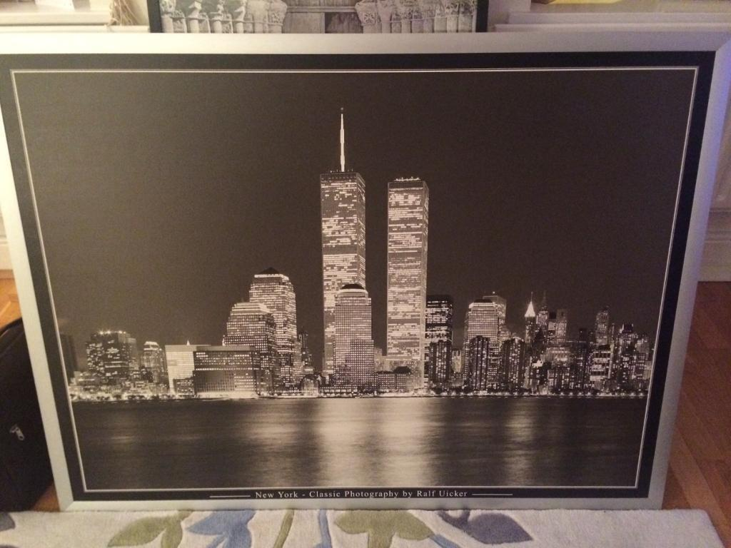 New York Twin Towers Photography Ralf Uicker Large