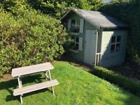 Children's wooden 2 storey playhouse