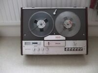 4 track stereo tape recorder.