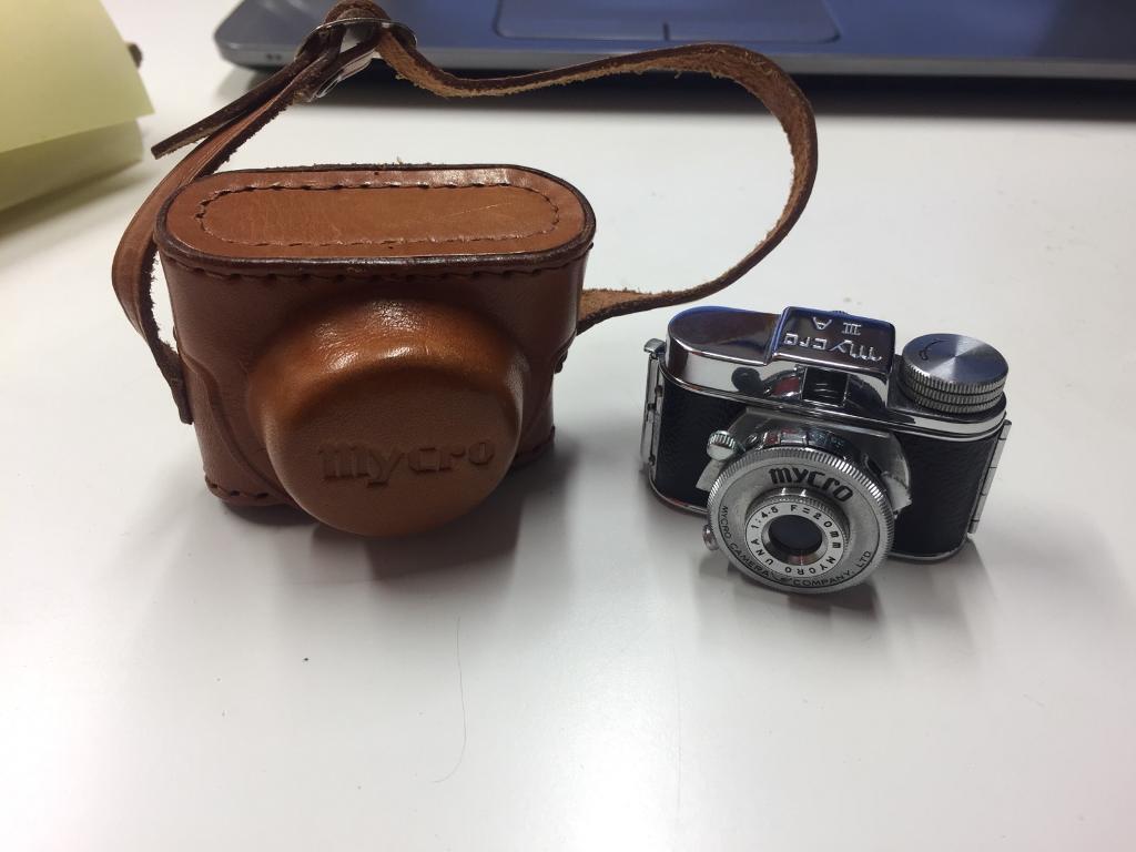 Vintage Mycro Mini Camera