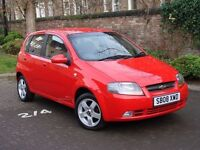 EXCELLENT VALUE!! 2008 CHEVROLET KALOS 1.4 SX 5dr, 1 YEAR MOT, WARRANTY