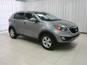 2016 Kia Sportage AWD SUV. LOW KILOMETERS !! w/ ALLOY WHEELS, HE