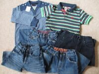 Boys clothes bundle, Next, Fat Face & Blue Zoo, aged 6 years
