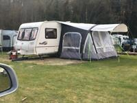 4 berth touring caravan with extras !
