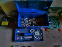 Screw bit s, tool box and lot of fixtures