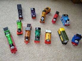 Thomas and friends metal trains