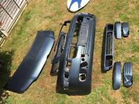 Vw t5 2007 front bumper and bonnet