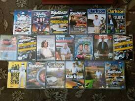 Awesome 19 TOP GEAR  +  CLARKSON dvds   £15   or £1 each