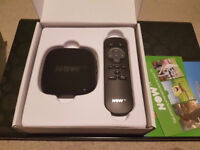 Now TV box Black - Can deliver locally